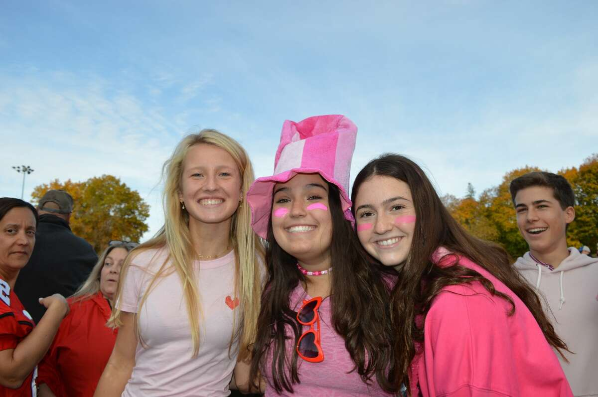 Greenwich and Darien high schools faced off on the football field October 26, 2019. Were you SEEN?