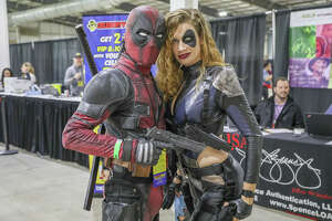 San Antonians got up close and personal with famous actors, comic creators, and artists at Celebrity Fan Fest on Saturday.