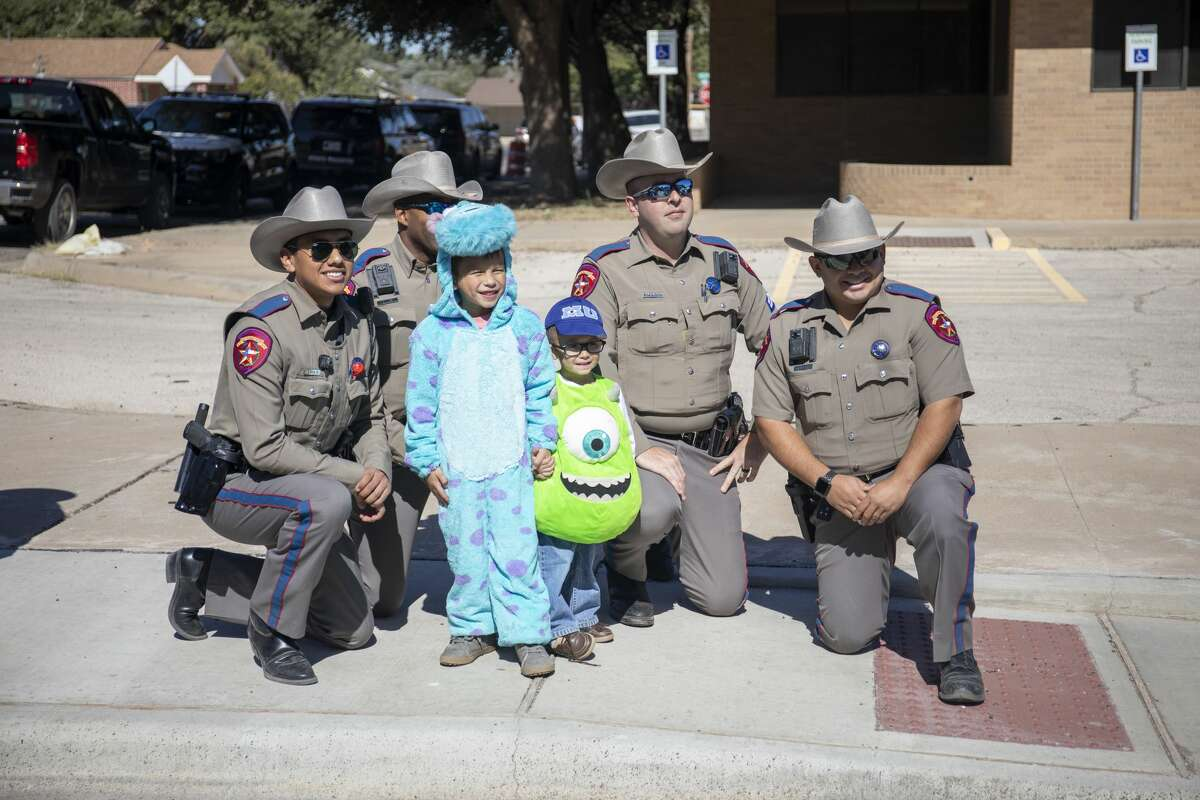 Scenes from Midland Fire Department's Halloween celebration on Saturday, Oct. 26, 2019 at Central Fire Station.