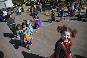 Scenes from Midland Fire DepartmentÕs Halloween celebration on Saturday, Oct. 26, 2019 at Central Fire Station.  Jacy Lewis/Reporter-Telegram