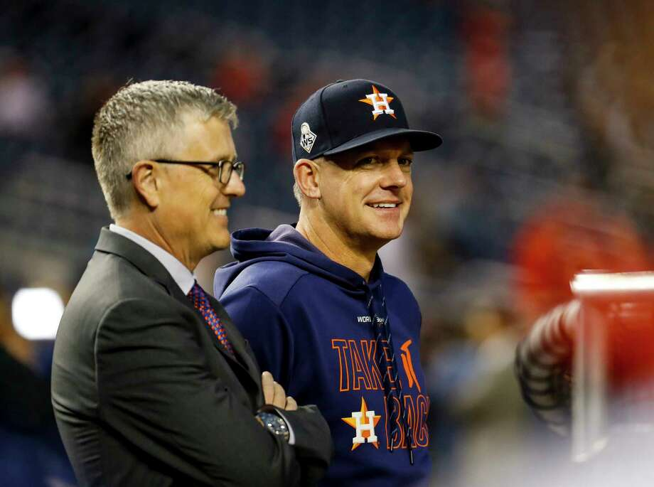 PHOTOS: Everything you need to know about the Astros alleged cheating scandal