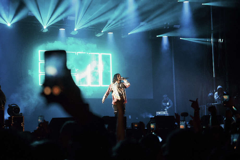 "Rapper Russ said San Antonio was ""special"" after he headlined the Mala Luna festival on Saturday.   Photo: Chavis Barron"