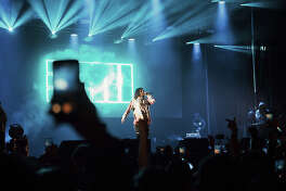 """Rapper Russ said San Antonio was """"special"""" after he headlined the Mala Luna festival on Saturday."""