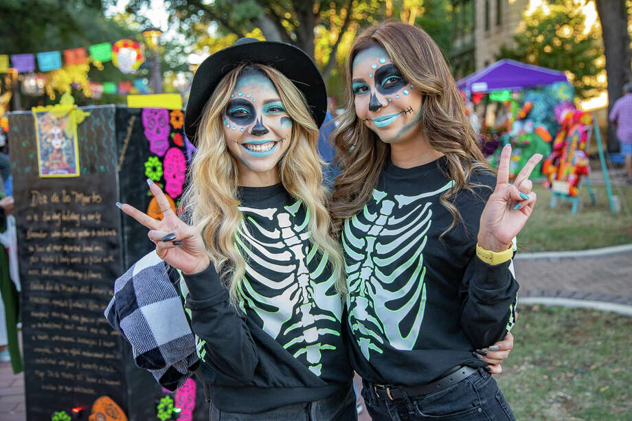 San Antonians celebrate Day of the Dead at the 7th Annual Día de los Muertos event located downtown at the Hemisfair on Saturday October 26, 2019. Photo: Joel Pena / Joel Marcos Pena Jr.