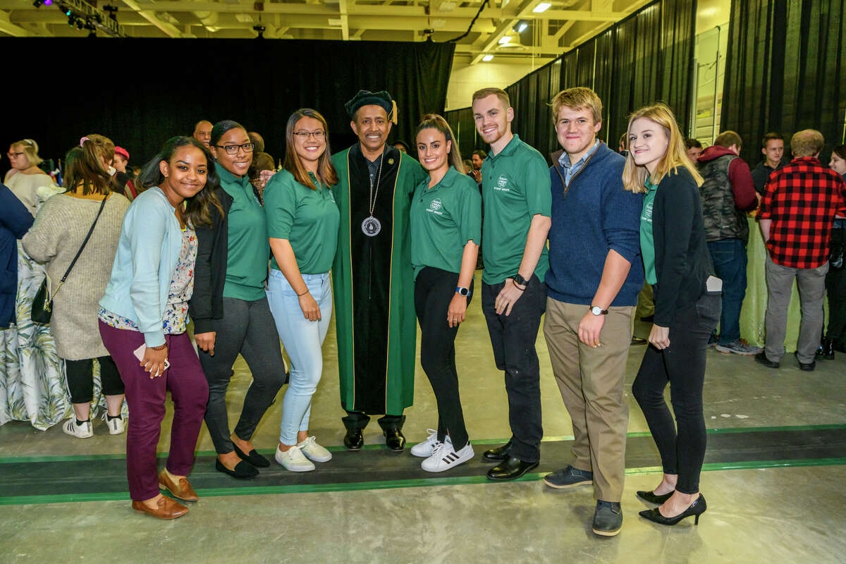 Were you Seen at Hudson Valley Community College's Inauguration Installation Ceremony for President Roger A. Ramsammy at the McDonough Sports Complex Field House on Oct. 25, 2019?