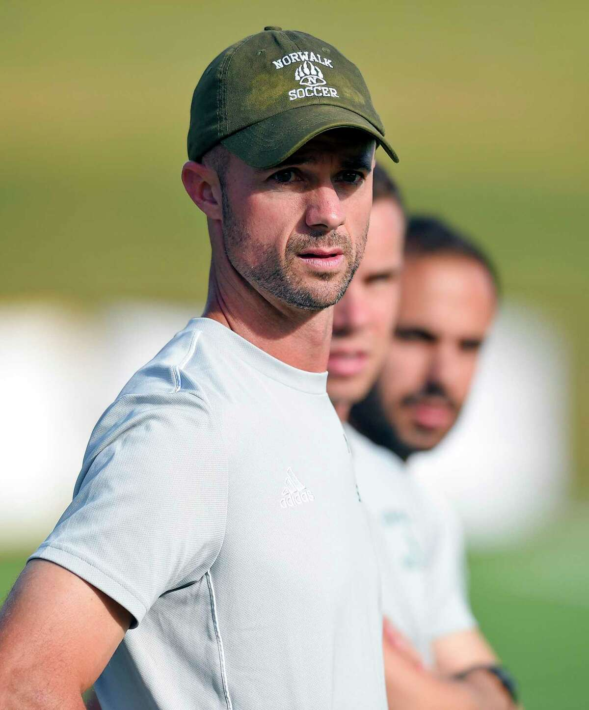 """Norwalk Head Coach Chris Laughton says of the FCIAC: """"This league is so hard, that's one thing we drill into the players but they have to understand, there are no nights off."""""""