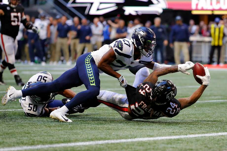 The Seahawks are giving second-year safety Marquise Blair a long look at nickelback to start training camp. Photo: Kevin C. Cox/Getty Images / 2019 Getty Images