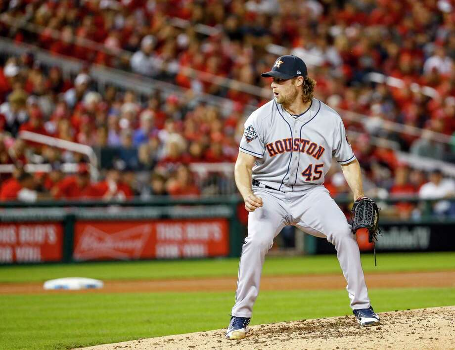 Gerrit Cole, starting pitcher 2020 salary: Free agent (Expected to earn more than $33 million per season)  Previous contract: 1 year, $13.5 million Is a free agent this offseason Photo: Brett Coomer, Staff Photographer / © 2019 Houston Chronicle