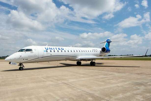 United has become the first airline in the world to fly the Bombardier CRJ-550