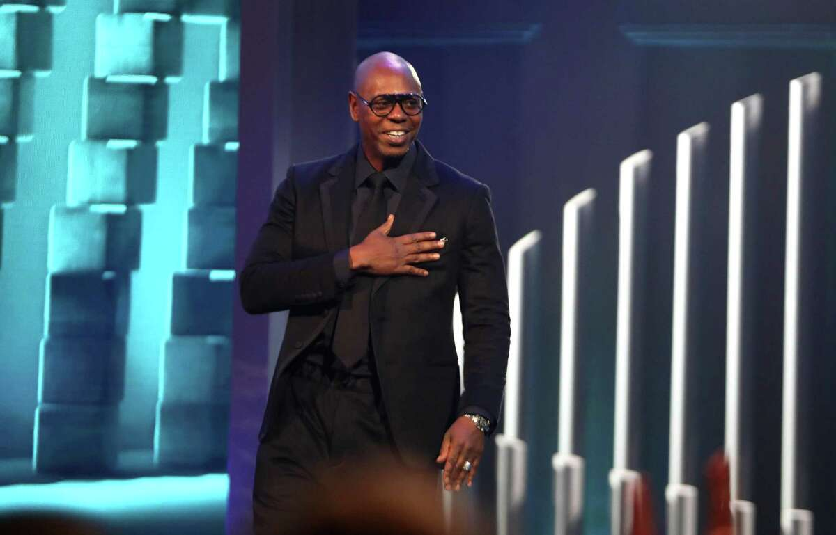 Dave Chappelle received the Mark Twain Award at the Kennedy Center on Sunday, Oct. 27, 2019.