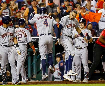 Astros Game >> How The Astros Got Their Swagger Back Houstonchronicle Com