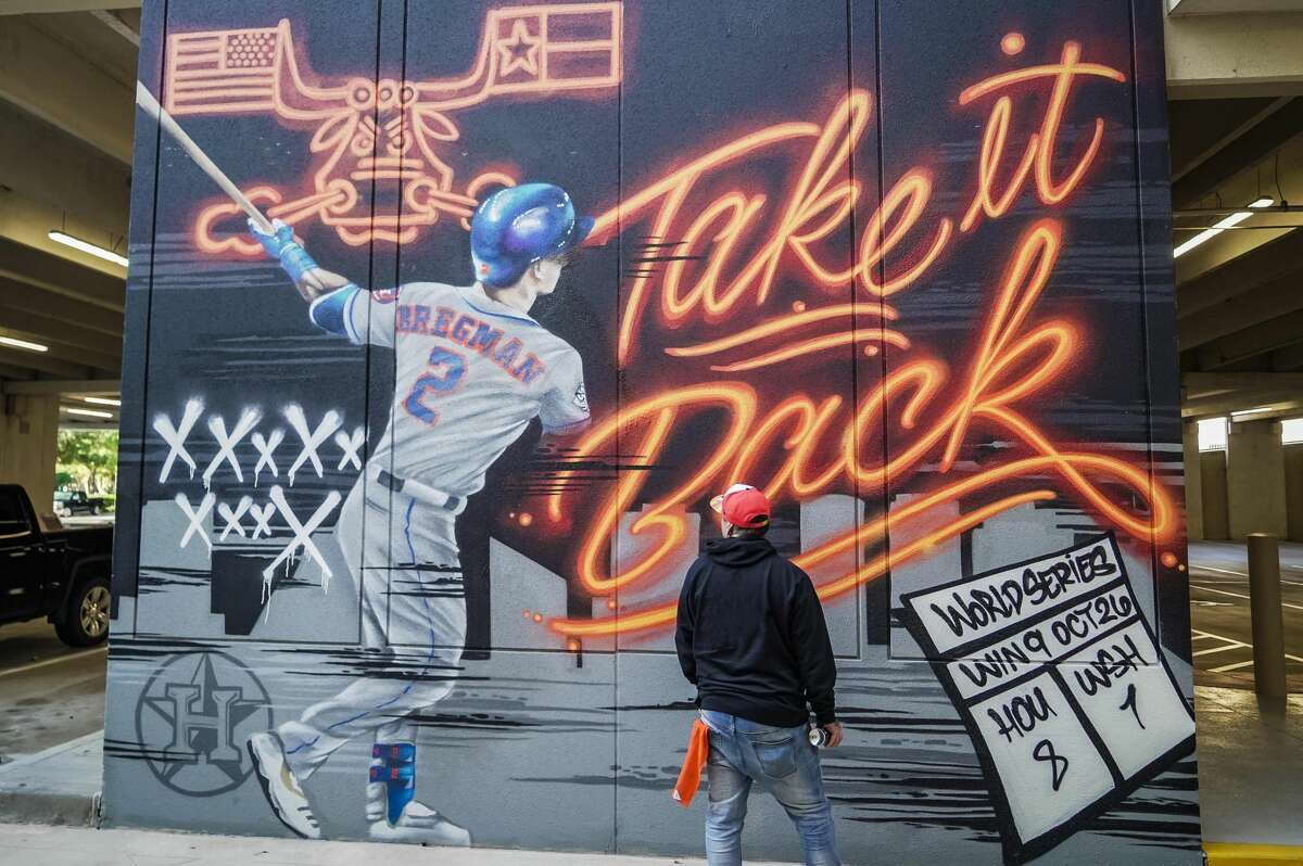 PHOTOS: New Astros murals in HoustonThree back-to-back-to-back wins in the World Series means three new Houston Astros-themed murals in Houston.>>>Here's where to find all of the latest masterpieces around the Bayou City...