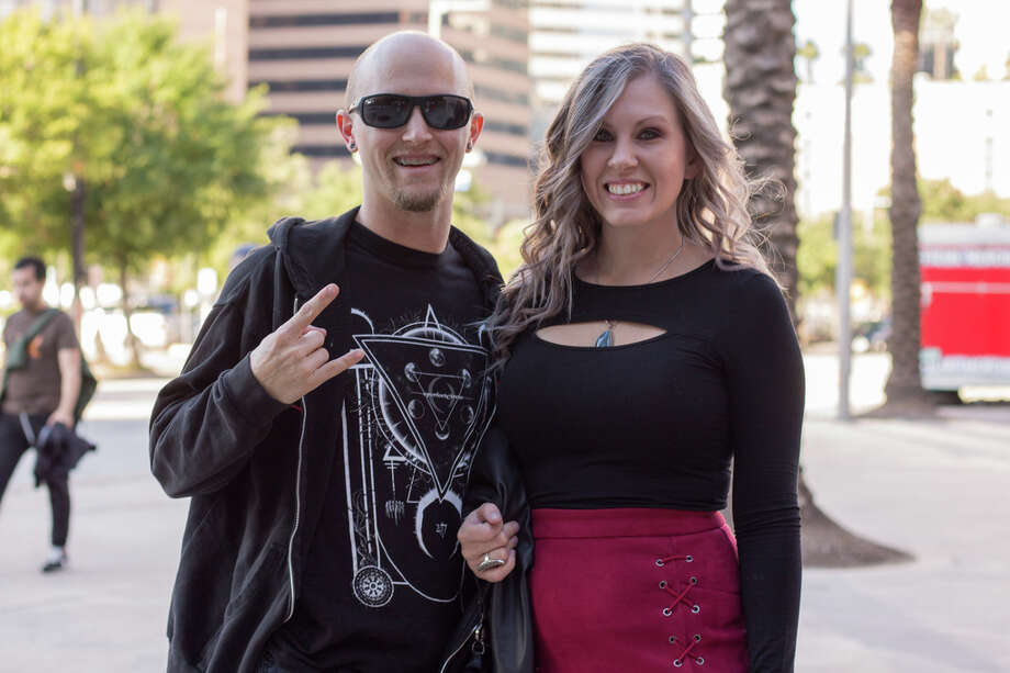 Tool fans at Toyota Center on Oct. 27, 2019. Photo: Katrina Martinez,Contributor, Katrina Martinez, Contributor / @ 2019 Houston Chronicle