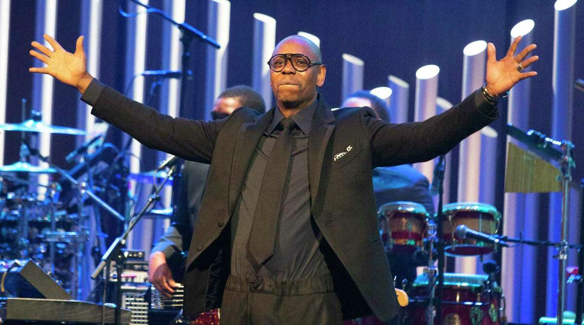 Dave Chappelle is honored with the Mark Twain Prize for American Humor at the Kennedy Center for the Performing Arts on Sunday