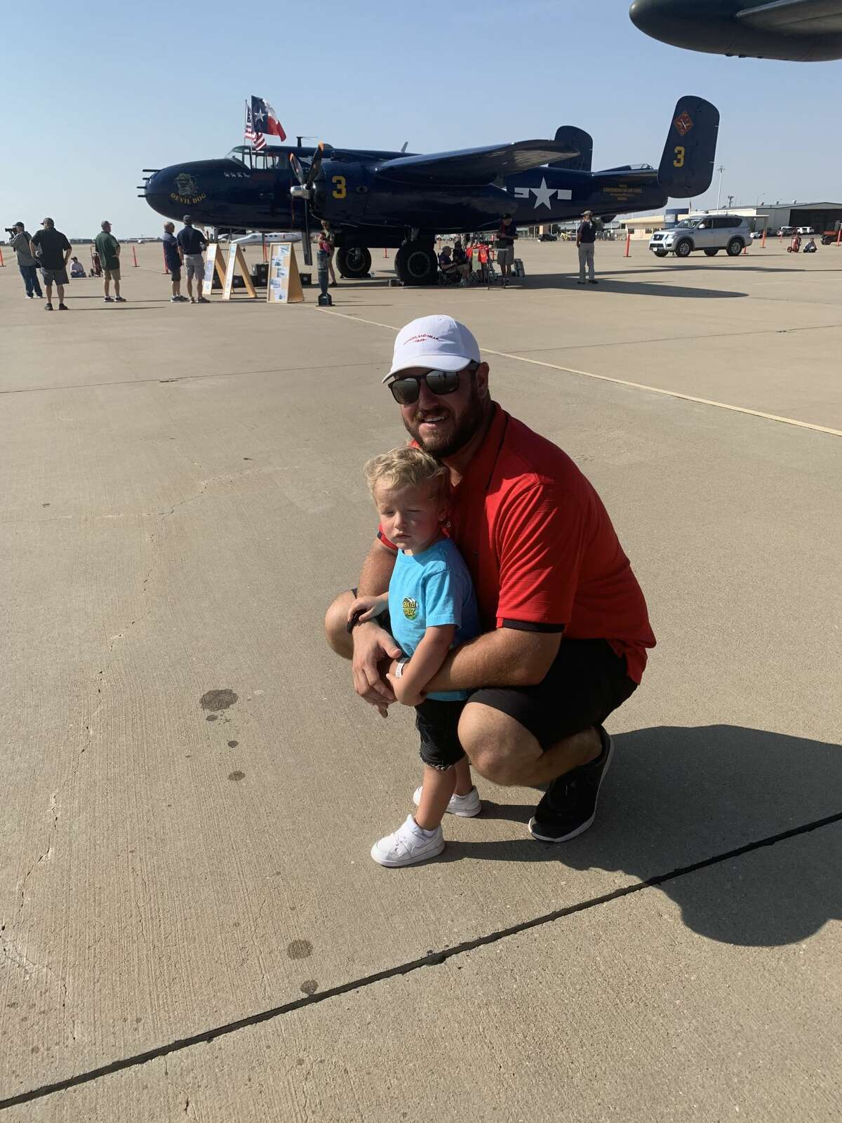 AirSho: Brooks Gilliland, left, and Anthony Gilliland