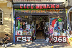 Pipe Dreams is the oldest smoke shop in San Francisco.
