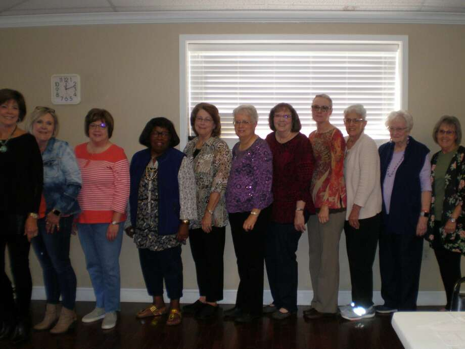 Plainview Area Retired School Personnel officers and committee chairs for 2019-20 Left to right: Carolyn Ross, Terry Miller, Brenda McDonough, Margaret Berry, Judy Buchanan, Margaret Rose, Caren Miller, Marla Howard, Beth Finley, Jane Berry, Linda Murphree Photo: Courtesy Photo/PARSPA