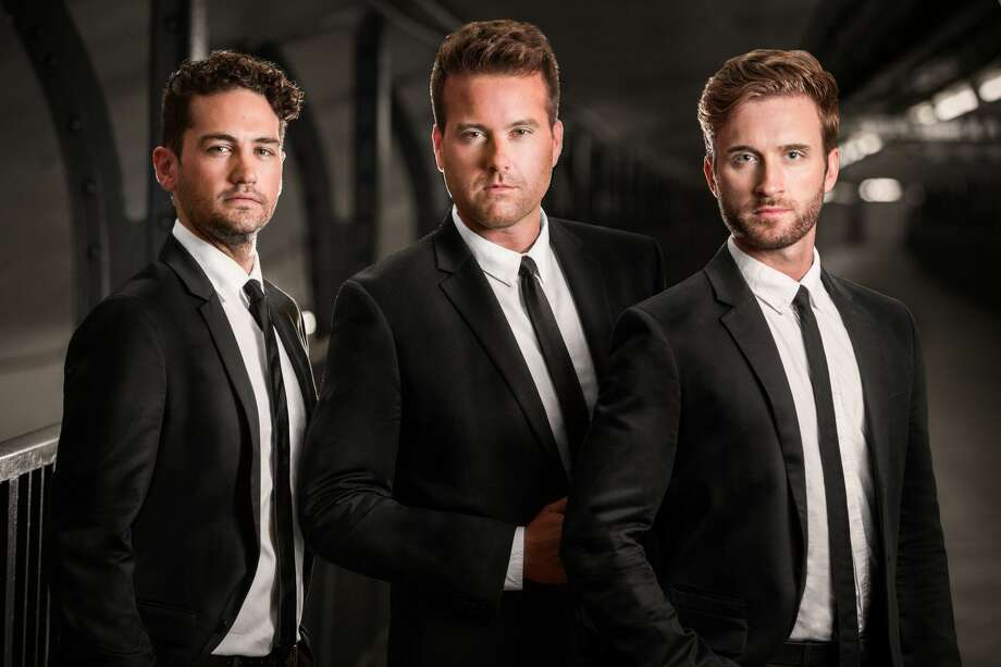 """Shades of Buble,"" a vocal trio hailing from New York City, will perform in Plainview on Nov. 4 as part of the group's 2019-2020 North and South American tour. The tribute show is the third installment of Plainview Community Concerts' 75th season. Photo: Courtesy Photo/Plainview Community Concerts / © 2017 Bjorn Bolinder"