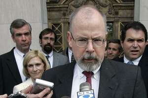 Connecticut's U.S. Attorney John Durham is now dividing his time between offices in Washington and New Haven as his investigation into the Federal Bureau of Investigation's Russia probe progresses into a criminal inquiry.