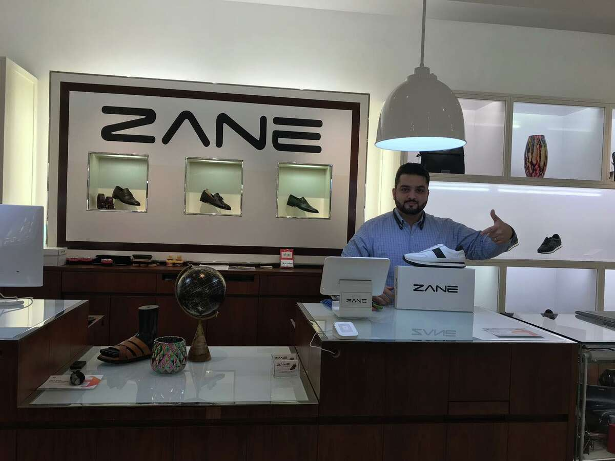 Ibrahim Hamidy is owner of men's wear store Zane, which opened in July 2019 on the fifth floor of the Stamford Town Center mall in Stamford, Conn.