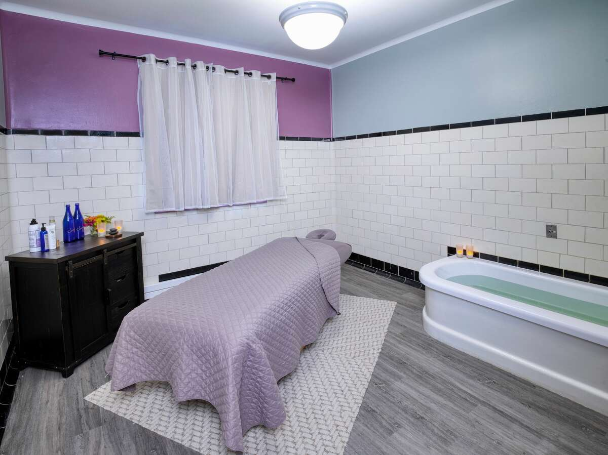 The 42 treatment rooms at the historic Roosevelt Baths & Spa inside Saratoga Spa State Park in Saratoga Springs, N.Y., have new furniture and flooring, as well as new acrylic shells to protect cast iron tubs dating from the 1930s.