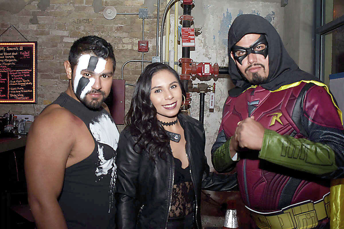 Locals came out in their Halloween costumes as a costumed pub crawl invaded the streets of downtown Laredo.