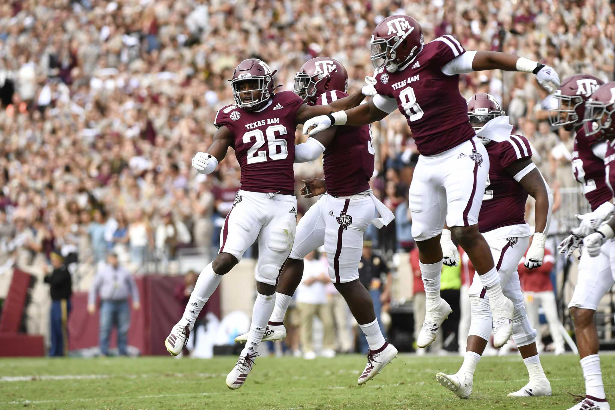 Sec Releases Times For Four Texas A M Football Games Houstonchronicle Com