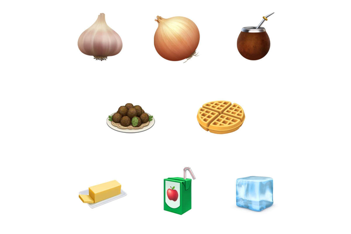 New emojis from the iOS 13.2 update.