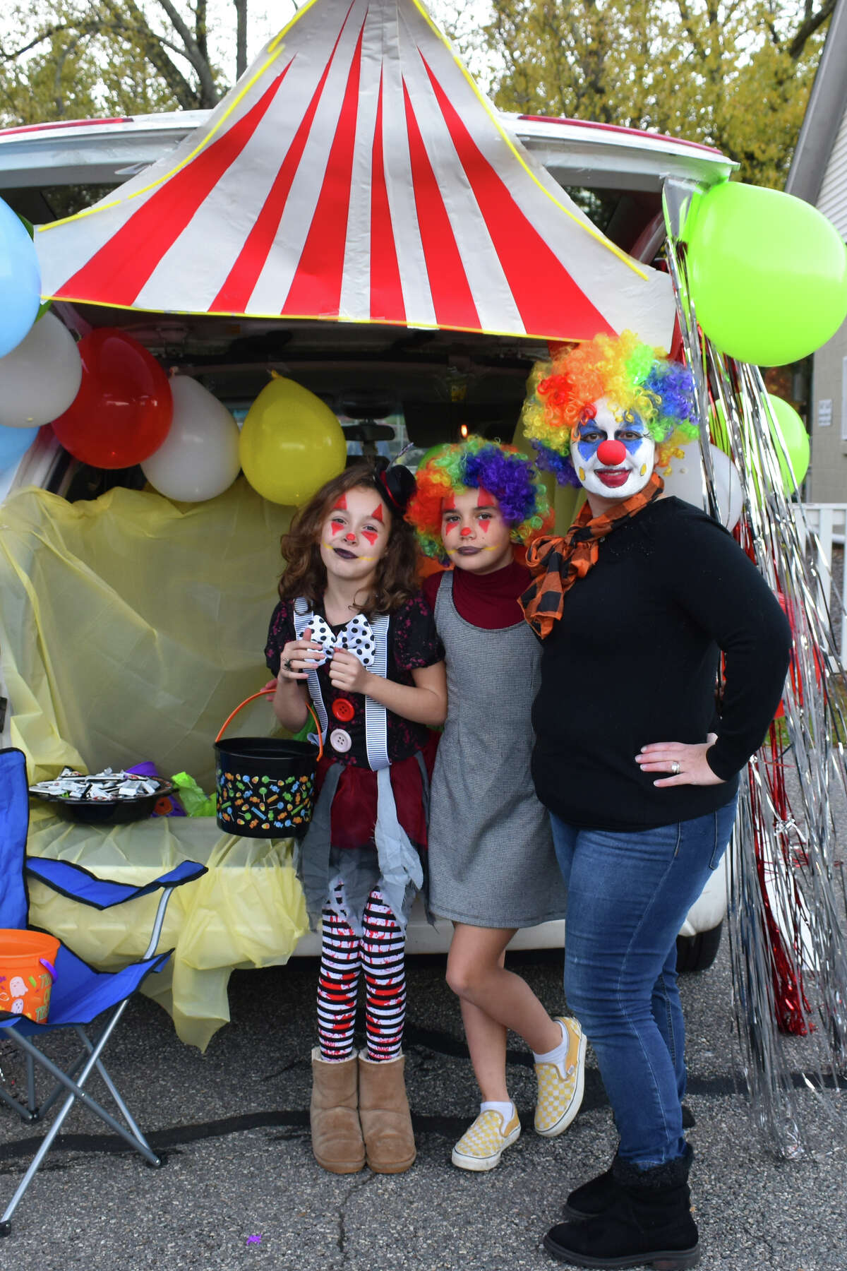 The 2019 Winsted Recreation Department held their Annual Trunk or Treat at Rowley Park on their rain date, Monday, October 28. The warm evening and creative trunks brought hoards of happy trick or treaters.