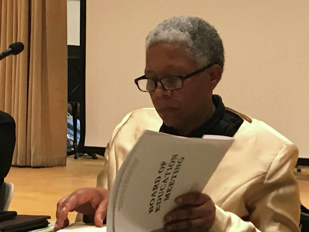 New Haven interim Superintende of Schools Iline Tracey