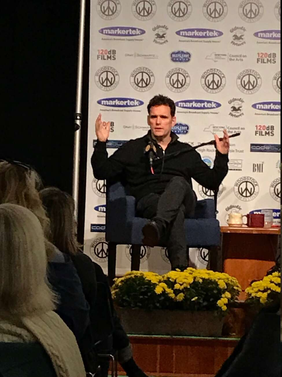 Matt Dillon makes a point about being referred to as a