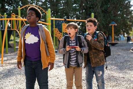 "Brady Noon, Jacob Tremblay and Keith L. Williams are ""Good Boys."""