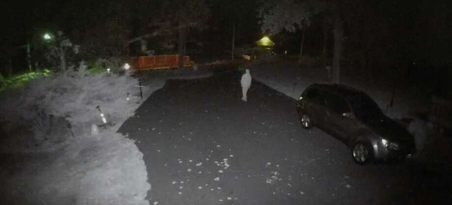 Security footage from an attempted vehicle break-ins that happened in central Ridgefield on Saturday, Oct. 26. This footage was taken at 3:43 a.m. Photo: Ring.com
