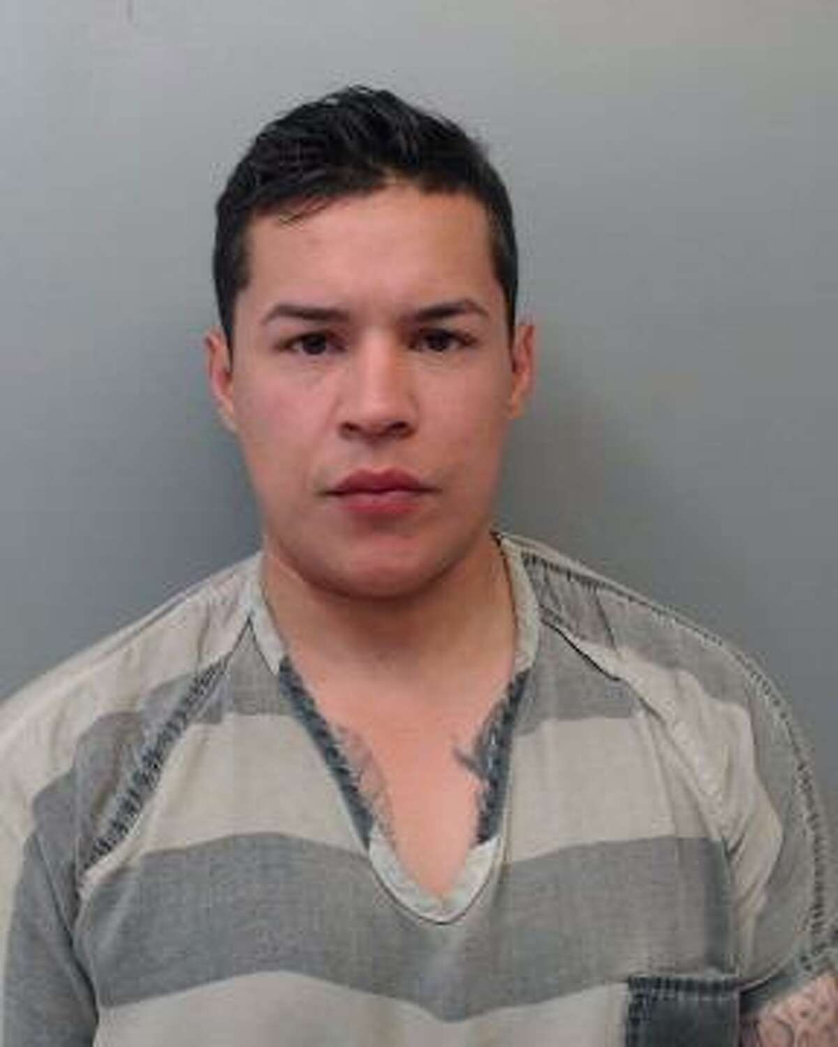 Norberto Lazaro De La Garza IV, 31, was placed under arrest for suspicion of driving while under the influence.