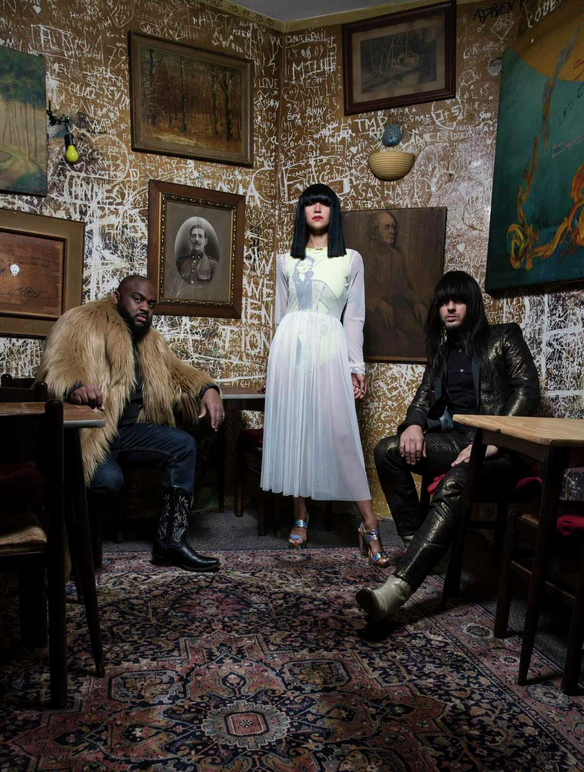 """Khruangbin is a Houston-based band that creates a psychedelic sound influenced by music from around the world. The band is guitarist Mark Speer, bassist Laura Lee and drummer Donald """"DJ"""" Johnson."""