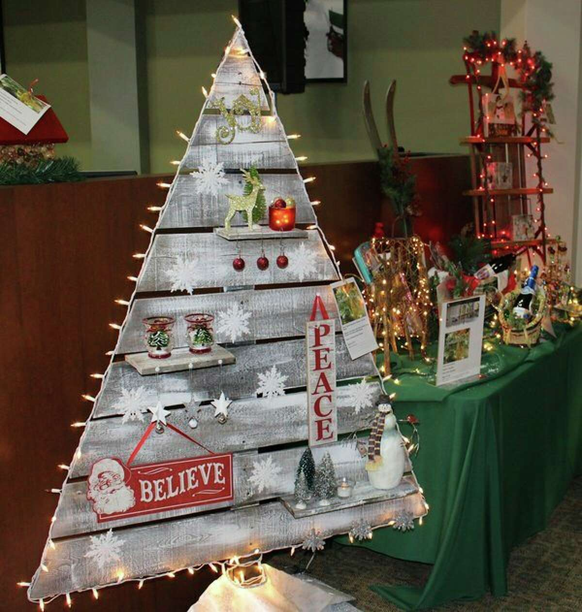 A tree at the Spectrum Health Festival of Trees is pictured. (Courtesy photo)