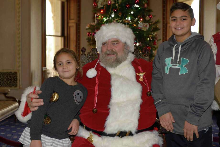 Norwalk's Lockwood-Mathews Mansion Museum will hosts its annual Holiday Open House on December 8, featuring a visit from Santa Claus, a special theater performance by Bennett Academy of The Performing Arts and decorated holiday trees for family portraits. Photo: Gus Apazidis / Contributed Photo