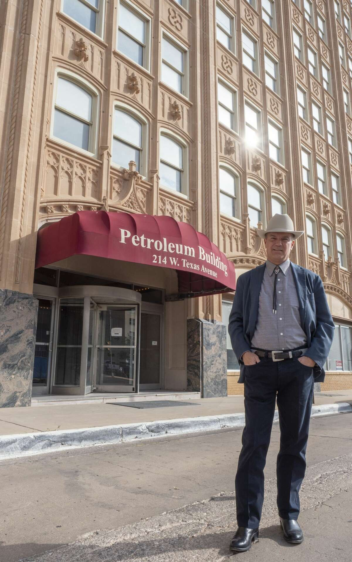 David Arrington, who has owned the Petroleum Building since the 1990s, said lower price levels are caused primarily by COVID-19 and the lack of demand.