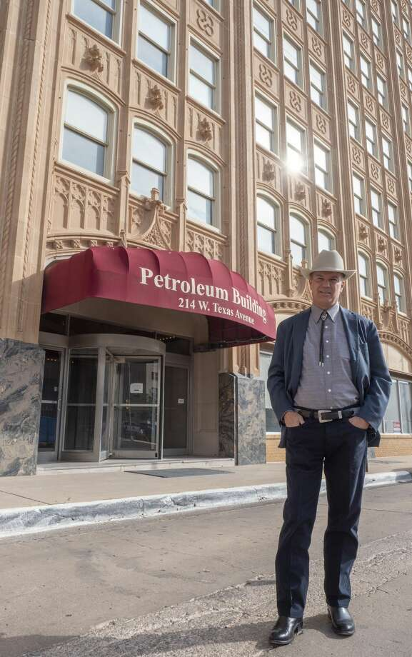 David Arrington, who has owned the Petroleum Building since the 1990s, said lower price levels are caused primarily by COVID-19 and the lack of demand. Photo: Tim Fischer/Midland Reporter-Telegram