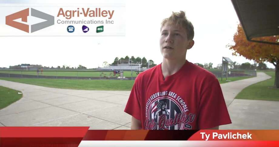 USA cross country team member Ty Pavlichek is Agri-Valley Communications Athlete of the Week.