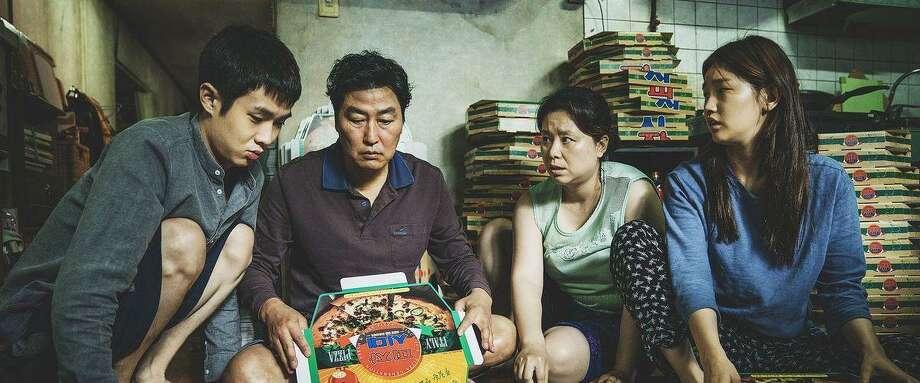 """""""Parasite"""" paints an unconventional family portrait. Photo: CJ Entertainment / Contributed Photo /"""