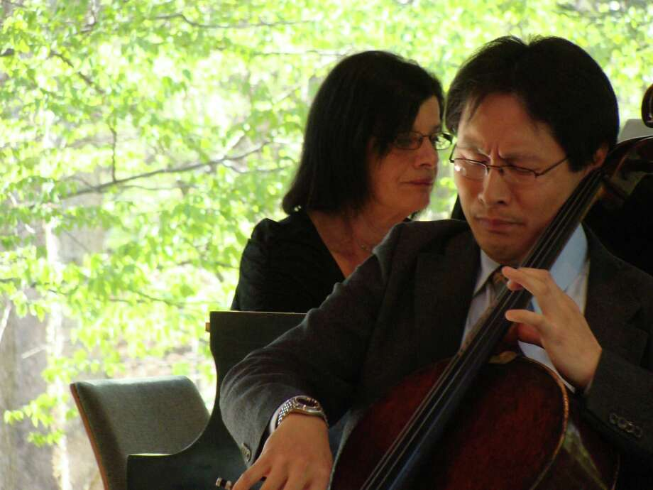 "The Bruce Museum and Greenwich Arts Council are partnering to present a free concert by cellist Kenneth Kuo on Nov. 6. He will perform works inspired by ""Contemporary Artists/Traditional Forms: Chinese Brushwork"" at the Bruce. The evening begins at the Bruce with a viewing of the exhibition and light refreshments at 5 p.m. and continues at 6:30 p.m. at the Greenwich Arts Council as Kuo performs accompanied by pianist Matthieu Cognet. Photo: File / Connecticut Hearst Media / Westport News freelance"