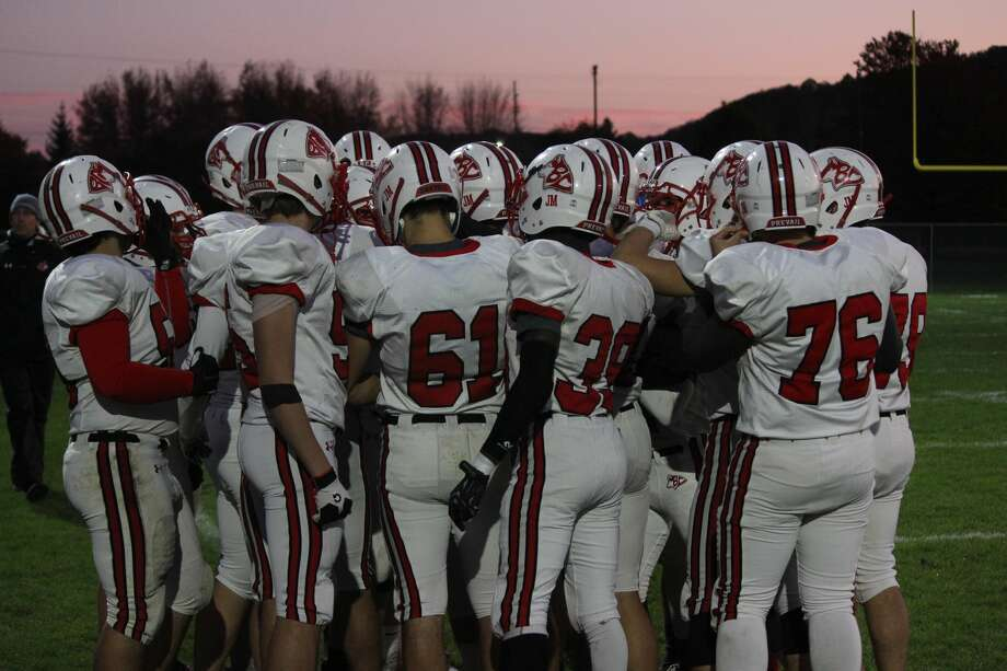 Rivals collided on Oct. 25, with Benzie Central traveling to Frankfort, where the Huskies defeated the Panthers 42-22 to close out both teams' seasons. Photo: Robert Myers