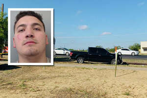 A Laredo man was arrested and charged with human smuggling, evading arrest with a vehicle and evading arrest on foot.