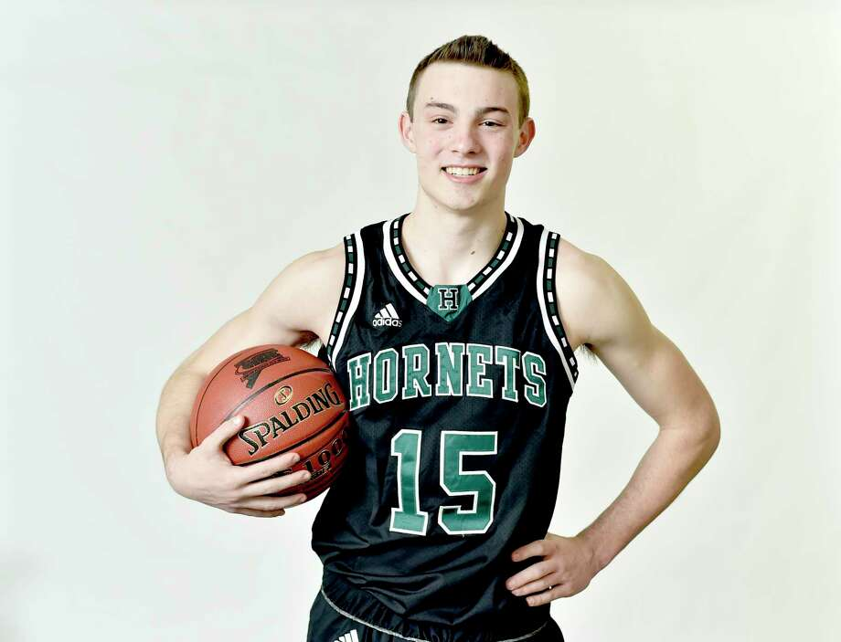 New Haven, Connecticut - Tuesday, March 26, 2019: WINTER ALL AREA PLUS - BOYS BASKETBALL: Jackson Benigni, Hamden Hall. Photo: Peter Hvizdak / Hearst Connecticut Media / New Haven Register
