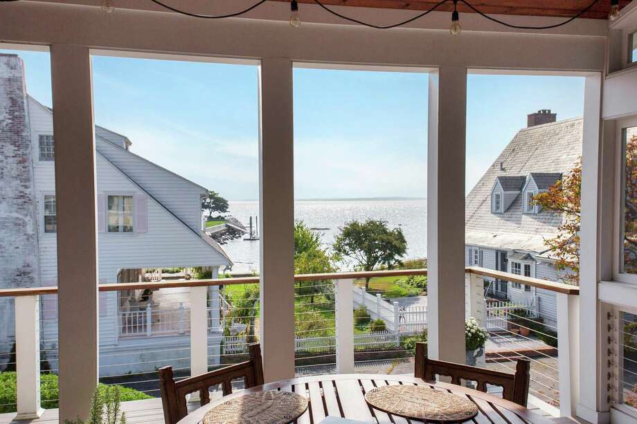 The home was raised by its current owners, to be in compliance with FEMA and town flood regulations, and to minimize the cost of flood insurance. Photo: Halstead Real Estate / Contributed Photo