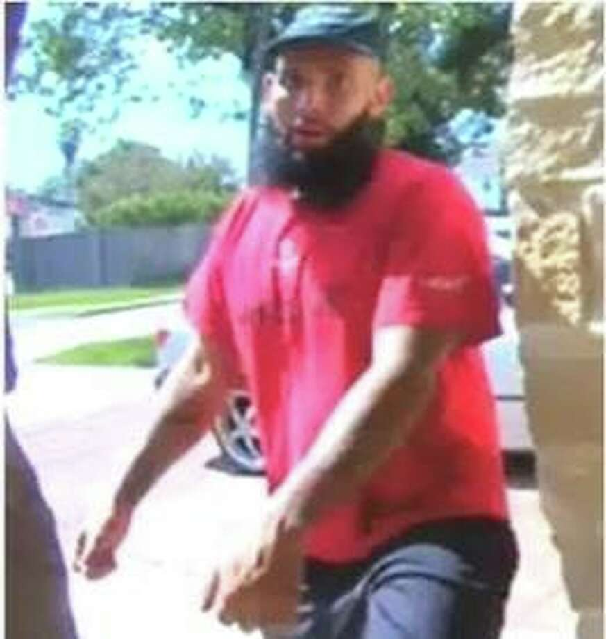 The Sugar Land Police Department is seeking the public's help with identifying the male in this photo. He is suspected of burglarizing a home in the 6700 Block of Chalice Place in Sugar Land on October 3, 2019 at approximately 12:20 PM. Photo: Sugar Land Police Department