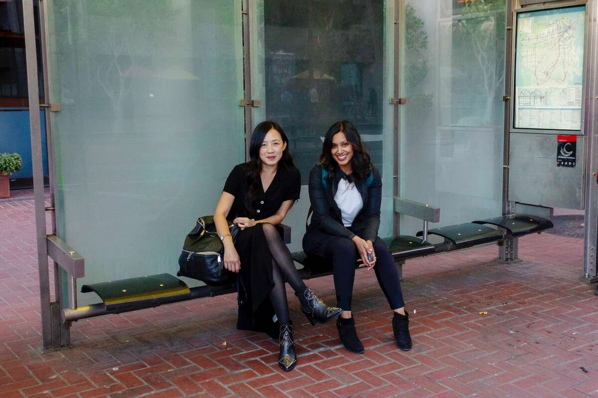 Muni Diaries co-founders Eugenia Chien (left) and Tara Ramroop (right) created their blog about life in San Francisco through the lens of the bus 11 years ago. Now, it's also a podcast and a live show.