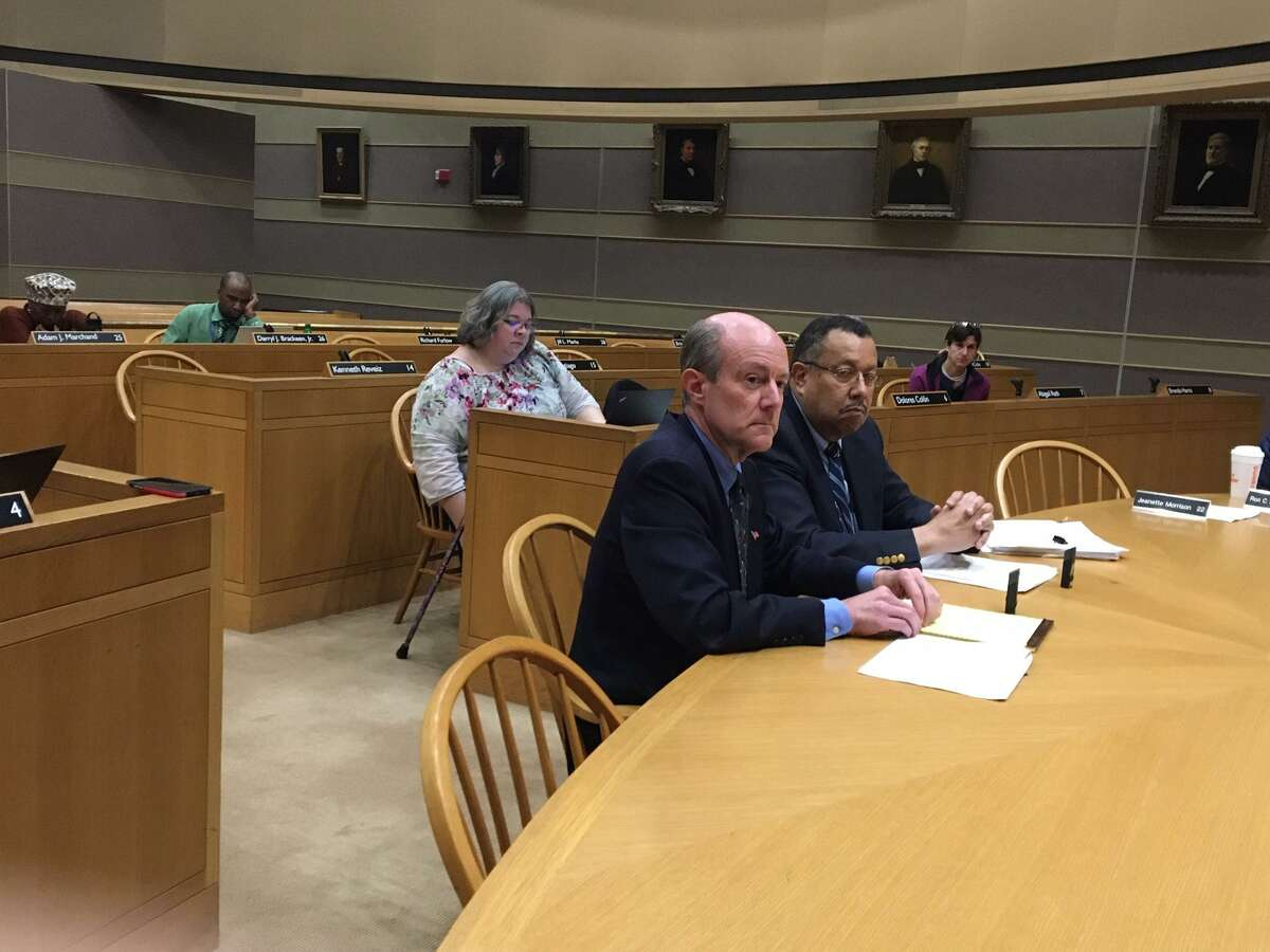 New Haven officials Steve Fontana and Clay Williams explain tax deferral plan