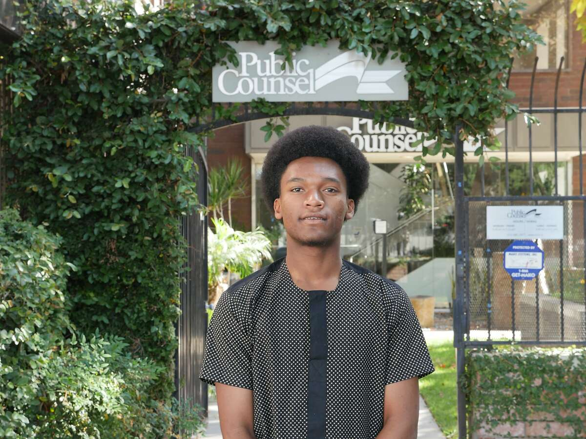 Kawika Smith, 17, is prepared to become a plaintiff against the UC regents if the university continues to use the SAT and ACT tests in admissions decisions. Smith, with lawyers, advocacy groups and other students say the tests are biased.
